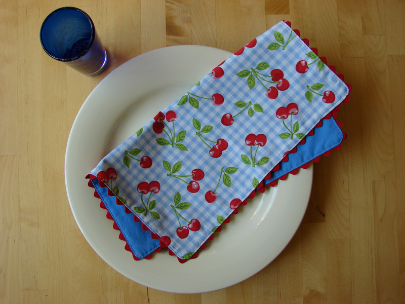 Cherry napkin
